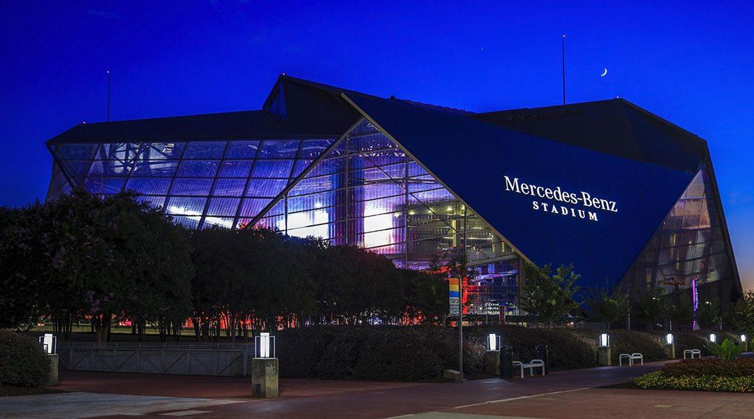 Tour the Mercedes-Benz Stadium